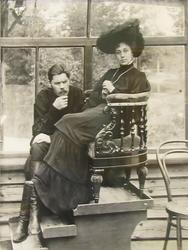 А.М. Горький с М.Ф. Андреевой в Куоккале. 1905