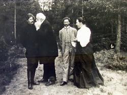 Знакомство В.В. Стасова с А.М. Горьким. 1904