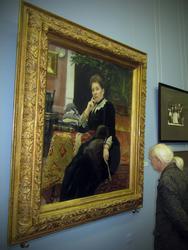 Портрет Ольги Сергеевны Александровой-Гейнс. 1890