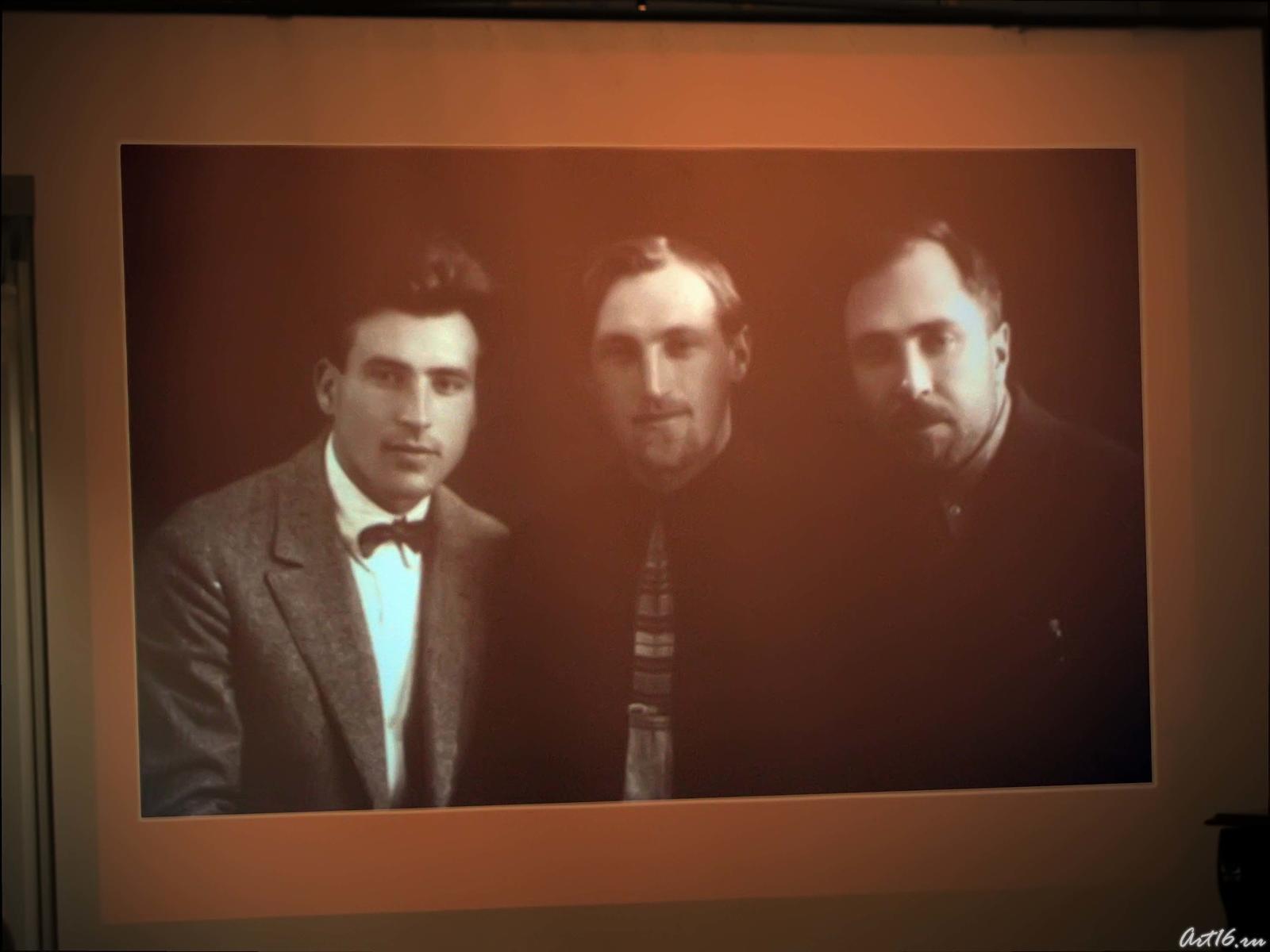 Фото №39789. На экране фото из архива Воробьевых