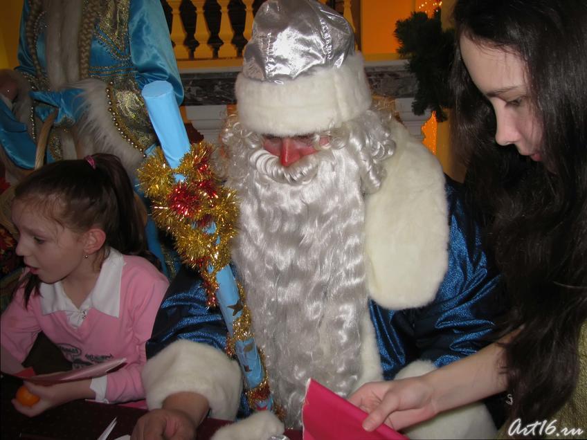 Дед Мороз в НМ РТ:: Выставка «В гостях у сказки»