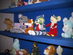 Мягкие игрушки в «Мастерской Деда Мороза»