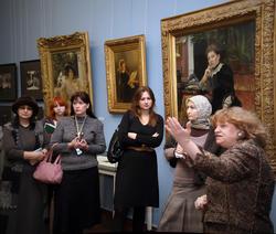 Открытие юбилейной выставки, посвященной 165 годовщине со дня рождения Ильи Ефимовича Репина