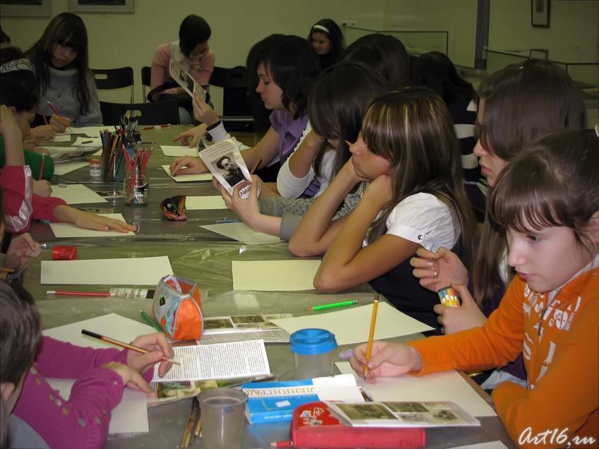 Фото №41090. Учащиеся Детской художественной школы №3