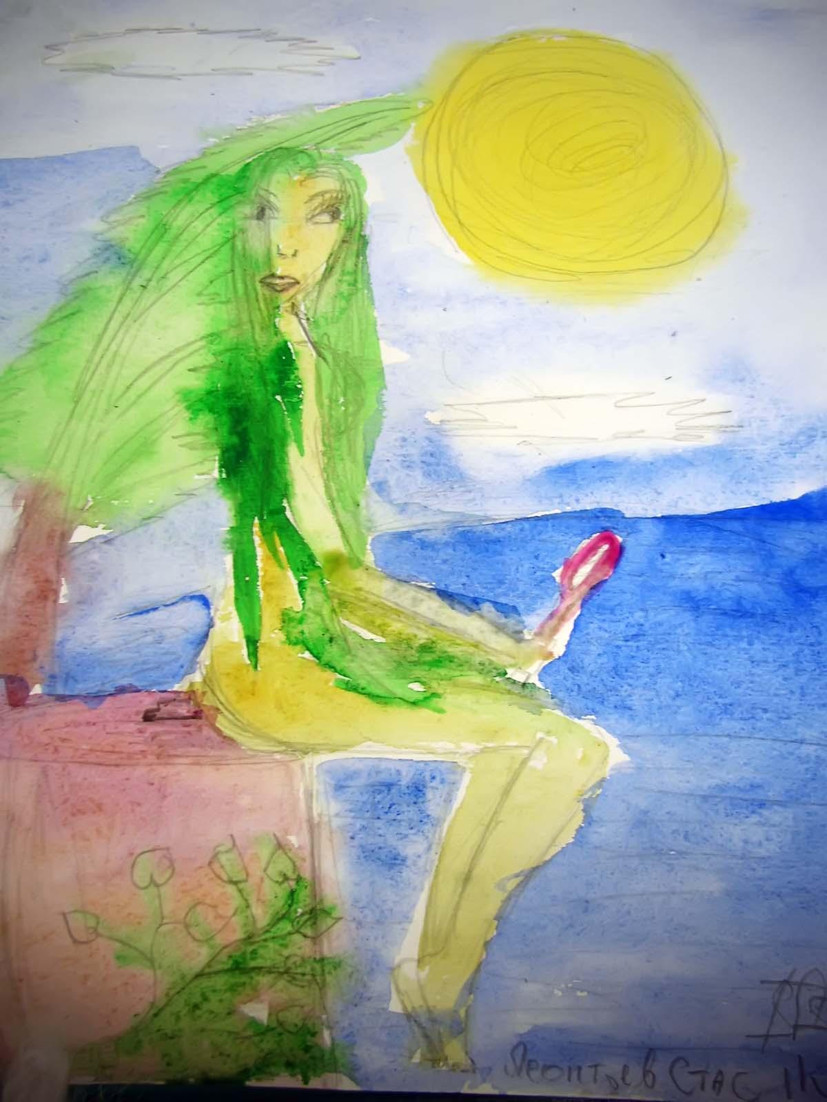 Фото №41100. Рисунок Леонтьева Стаса, 11 лет