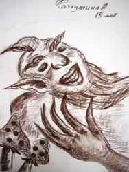 Шурале. Рисунок Фатхуллиной А, 15 лет