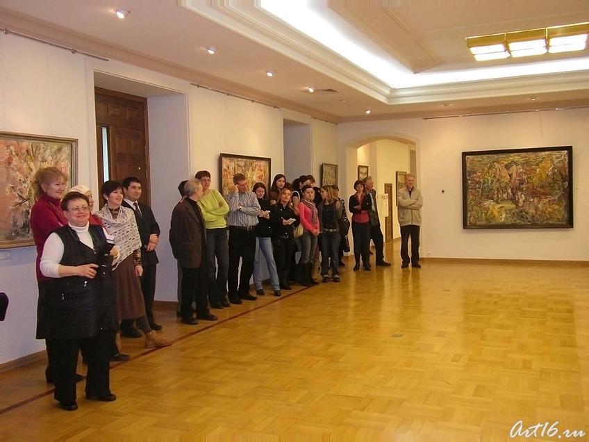 Фото №4110. Цремония открытия выставки
