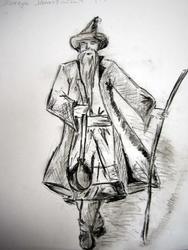 Рисунок Ланчук Анастасии, 14 лет