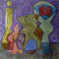 Натюрморт с вазой. 2007