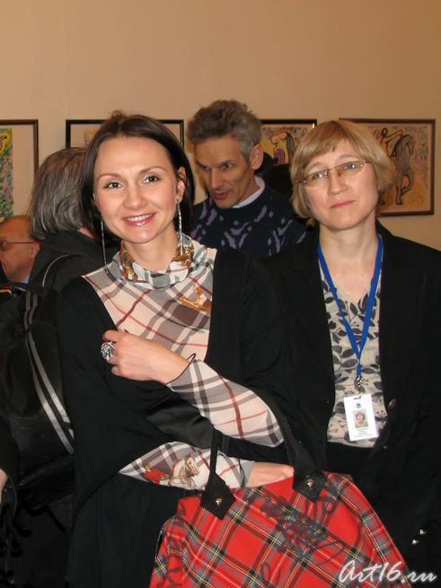 На открытии выставки Сальвадора Дали в Казани