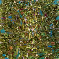 ЛОПАТКИН АЛЕКСАНДР НАРЦИЕСОВИЧ. г. Казань МАЛАХИТОВЫЙ ЦВЕТОК. 2010 Холст, масло 1953