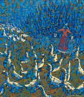 ЕГОРОВА ВИКТОРИЯ ВЛАДИМИРОВНА. 1985 г. Набережные Челны РТ ЮМГА-ОМГА. 2014 Холст, масло