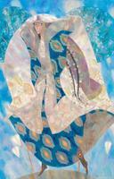 ГИЛЬВАНОВ БУЛАТ АЛЬФИРОВИЧ. 1972 г. Казань НЕЗНАКОМКА. 2014 Холст, масло