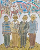 КУЗНЕЦОВ МИХАИЛ ИВАНОВИЧ (КАЗАНСКИЙ ) 1946 г. Казань КАЗАНСКИЕ ХУДОЖНИКИ. 2011 Холст, масло