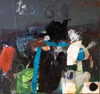 НАФИКОВ РАМИН КАНАФИЕВИЧ. 1967 г. Казань «12.35». 2012 Холст, масло