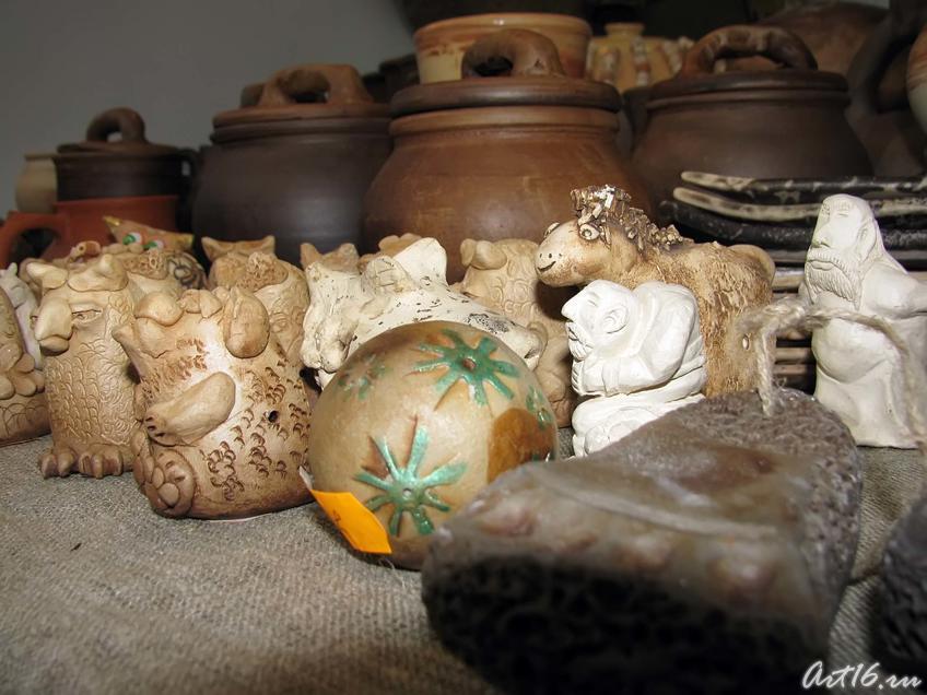 Изделия мастерской керамики  «CORVUS», г. Казань::Арт-галерея. Казань — 2010