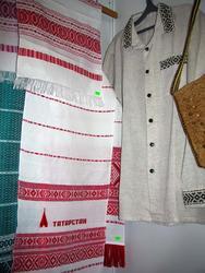 Изделия Алексеевской фабрики художественного ткачества