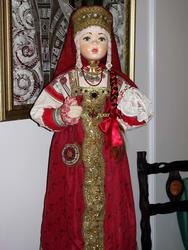 Кукла в русском костюме, г. Казань. 2010