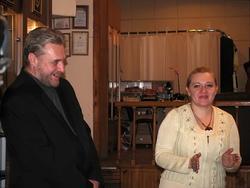 Михаил Соколов и Наталья Топал