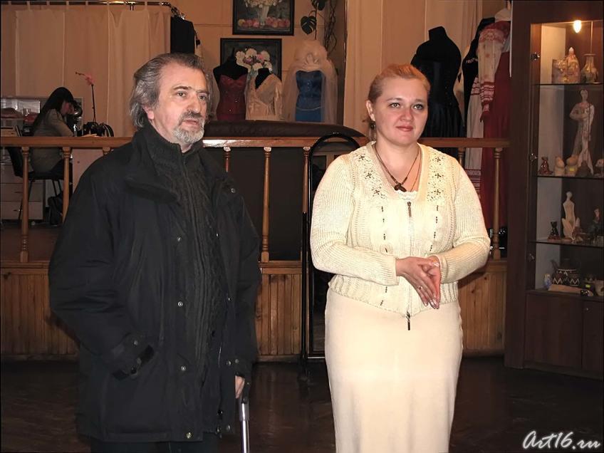 Фарид Губаев и Наталья Топал::Михаил Соколов