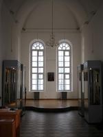 Выставка икон в колокольне Богоявленской церкви