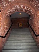 Лестница  в колокольне Богоявленской церкви