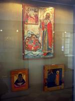 Фрагмент экспозиции выставки икон