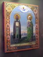 Василий исповедник и Мария Магдалина