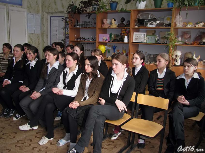 Фото №43136. Учащиеся Черки-Гришинской средней  общеобразовательной школы