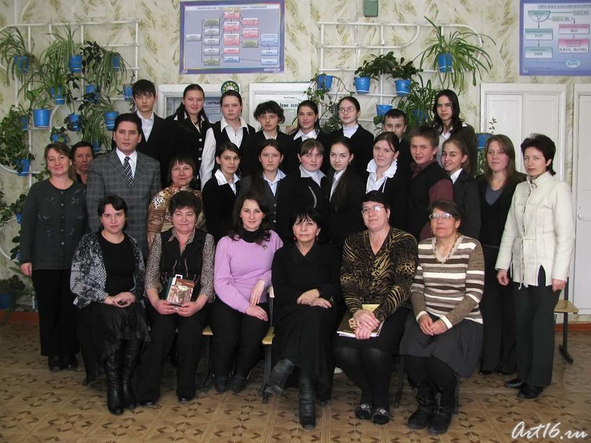 Фото №43161. Фотография на память о встрече с сотрудниками НХГ