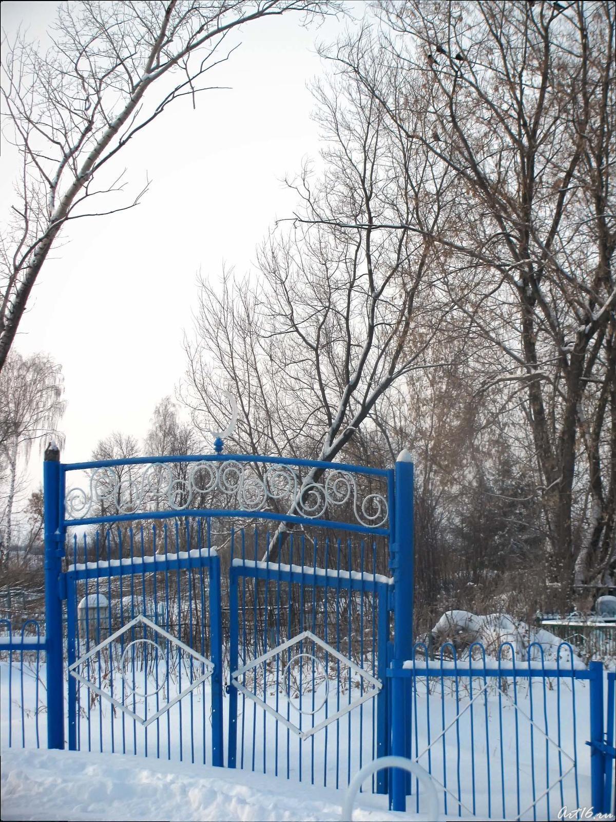 Фото №43221. Ворота кладбища д. Куль-Черкене