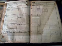 Книга описывающая имущественную принадлежность строений  г. Буинска