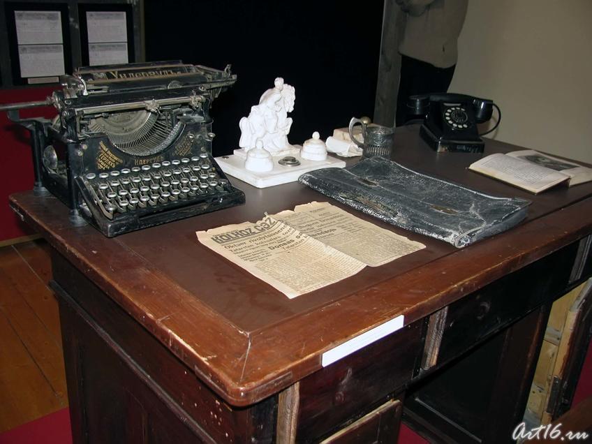 Фото №43366. Рабочий стол в правлении