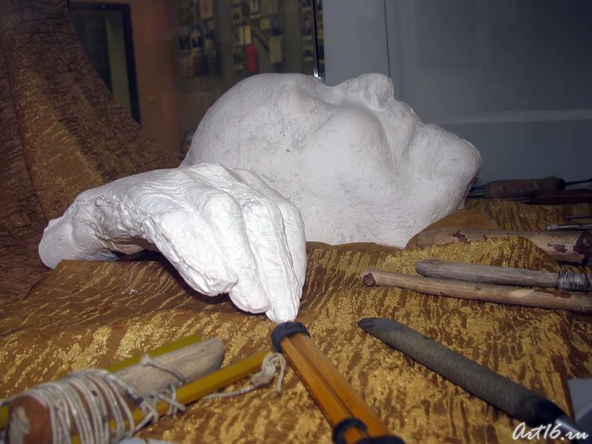 Фото №43591. Посмертная маска