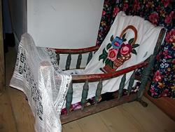 Люлька в татарском доме