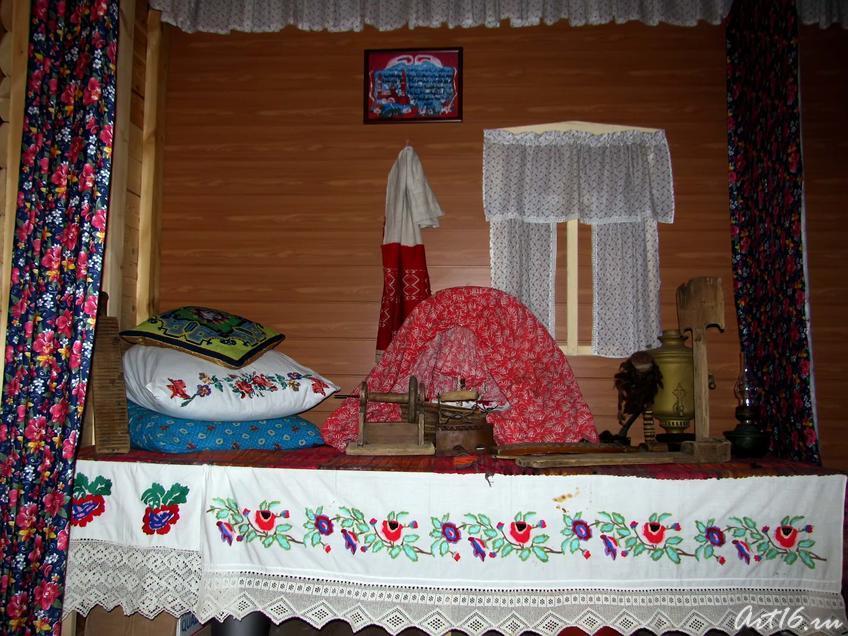 Фото №43621. Татарский комплекс. Фрагмент интерьера