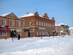 Дом Бурундуковского. Памятник архитектуры, занесен в республиканский реестр