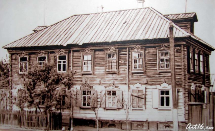 Фото №43698. Редакция и типография газеты «Идель». Астрахань