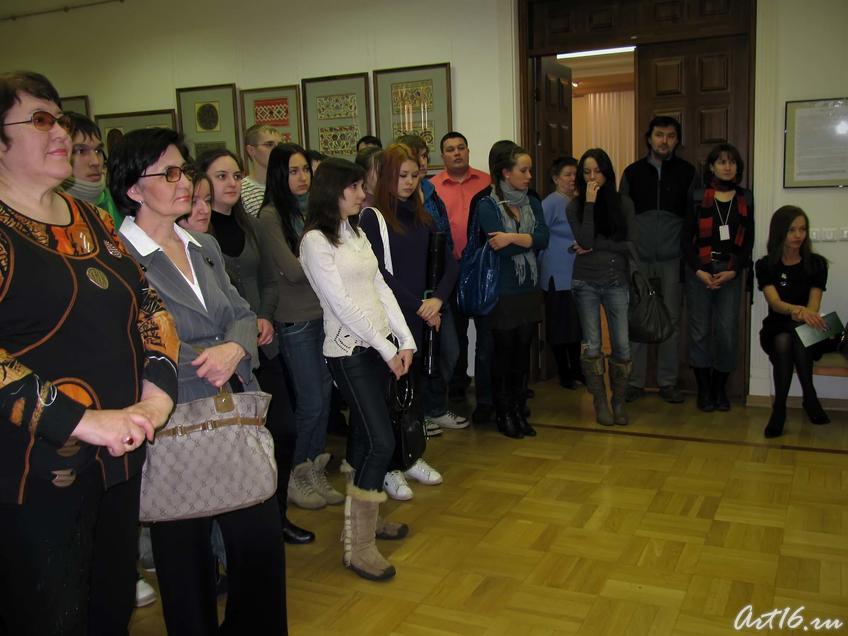 Фото №43945. Церемония открытия выставки Сперанского П.Т.