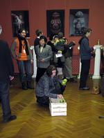 Открытие выставки ''Причудливый мир кукол''