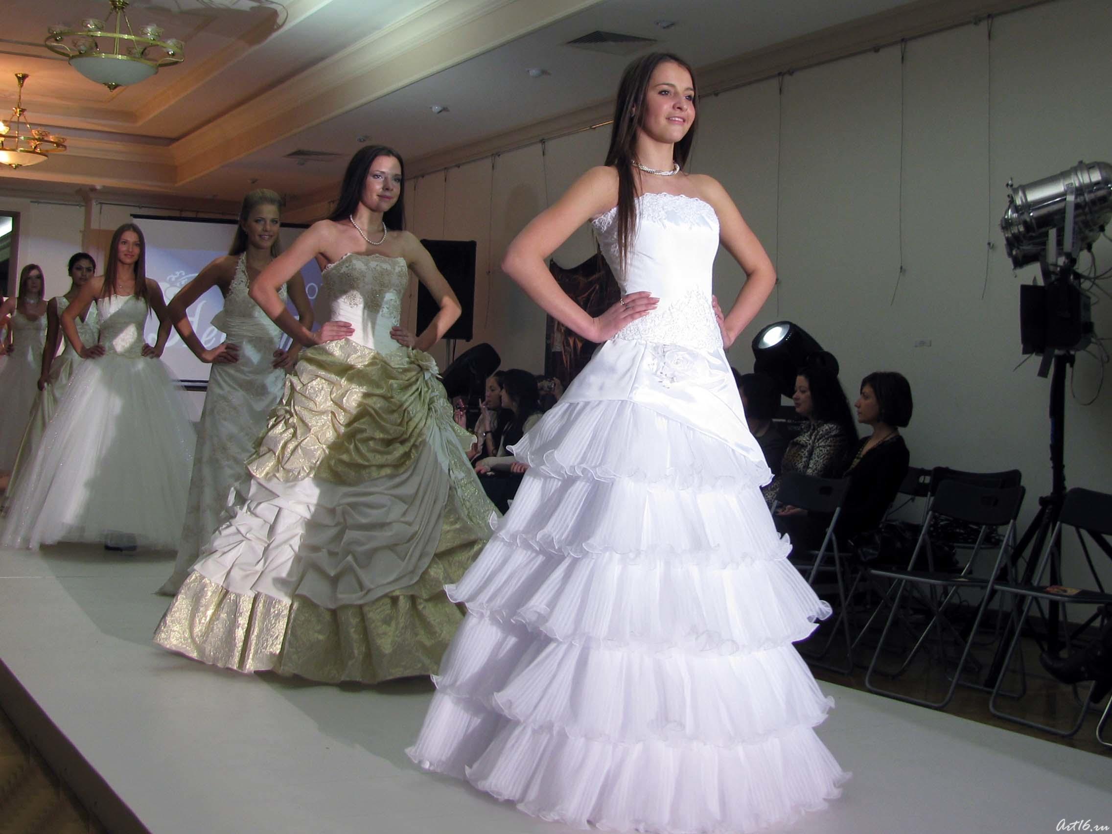 Конкурс на свадебном платье