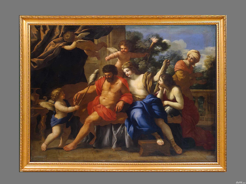 Геркулес и Омфала. ::Открытие выставки «Дети Богов»
