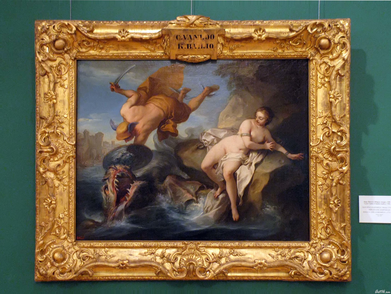 Персей и Андромеда. Между 1733 и 1740::Открытие выставки «Дети Богов»