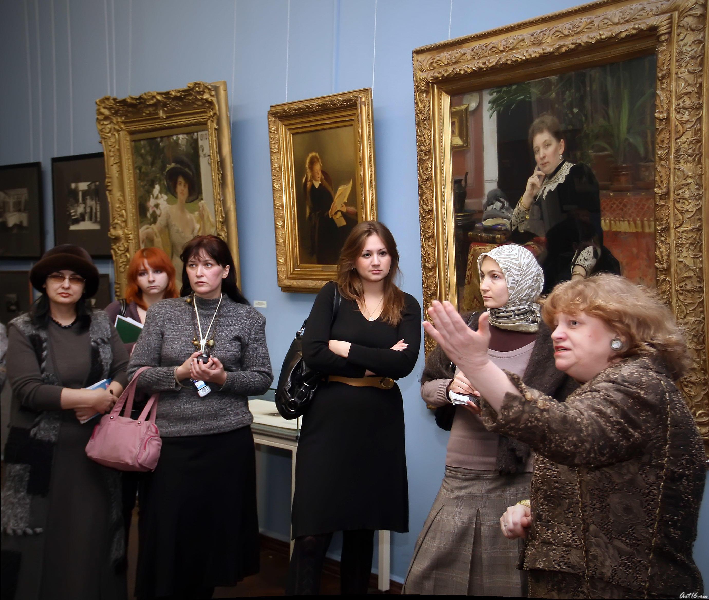 Открытие юбилейной выставки, посвященной 165 годовщине со дня рождения Ильи Ефимовича Репина::Служебный