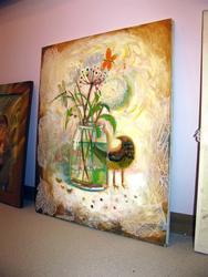 Выставка мастеров творческого объединения ''Волшебная лавка''