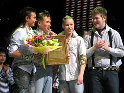 Гран-при — вокальный квартет «Jolly guys»