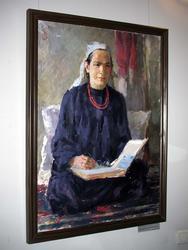 Портрет матери Героя Советского Союза Б.Рахимова. 1940