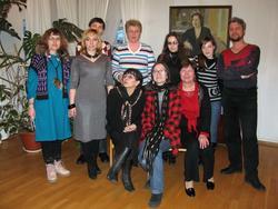 «Белая ворона», Р. Шагеева и сотрудники музея им. Баки Урманче