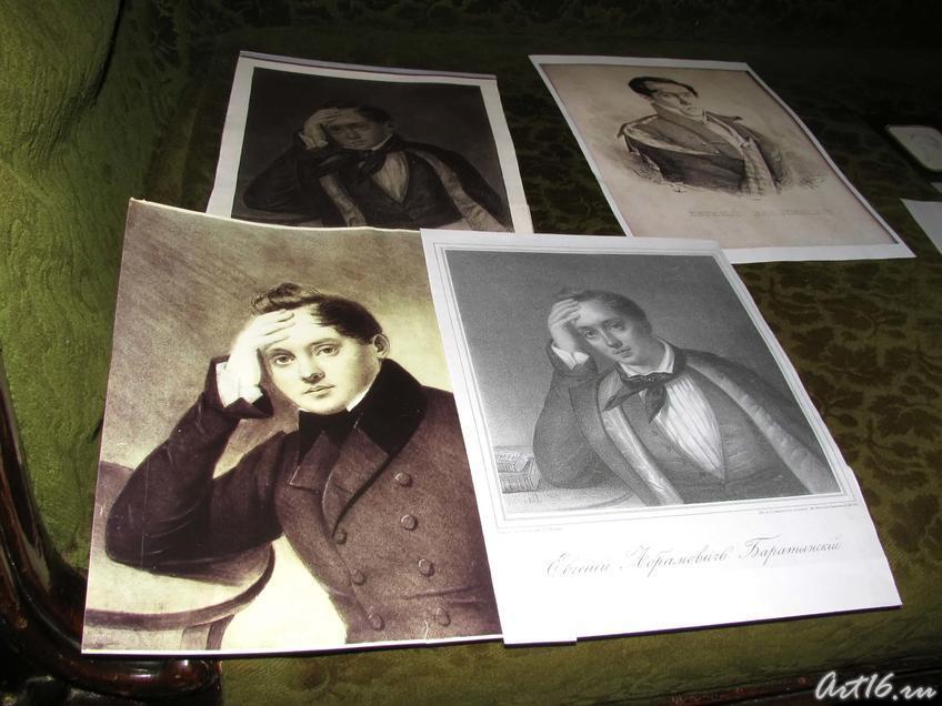 Фото №52111. Портреты Е.А.Боратынского, написанные в разный период жизни