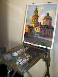Старая церковь на улице Кирова